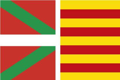 Bandera País Vasco-Cataluña