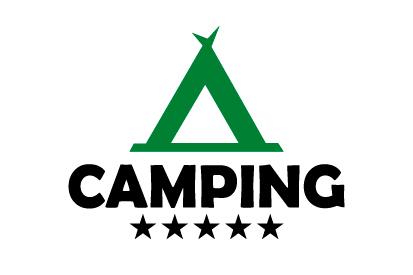 Bandera Camping 5 estrellas