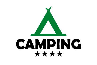 Bandera Camping 4 estrellas