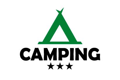 Bandera Camping 3 estrellas
