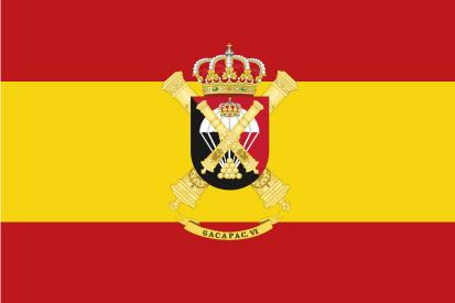 Bandera España GACAPAC VI