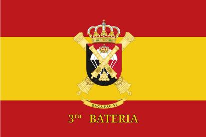 Bandera España GACAPAC VI 3ra Batería