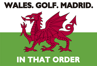 Wales Golf Madrid Flag Available To Buy Flagsok Com
