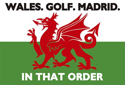 Bandera Wales Golf Madrid