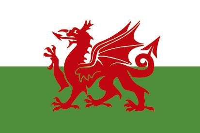 Bandera Wales Golf Madrid Personalizada