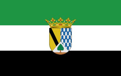 Bandera Extremadura Tejeda de Tietar