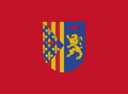 Bandera Llocnou de Sant Jeroni roja