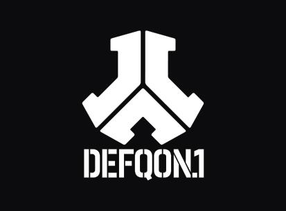 Bandera Defqon 1 negra
