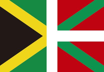 Bandera Bandera de Jamaica y País Vasco