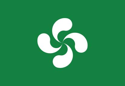 Bandera Euskadi Lauburu
