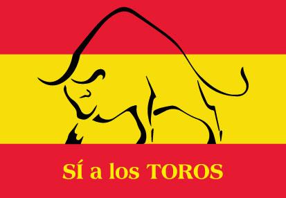 Bandera España Si Toros