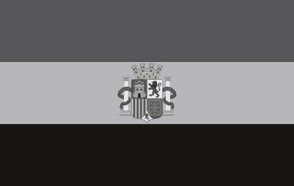 Bandera Segunda República Española Blanco y Negro