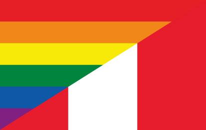 Bandera LGTBI Peruana