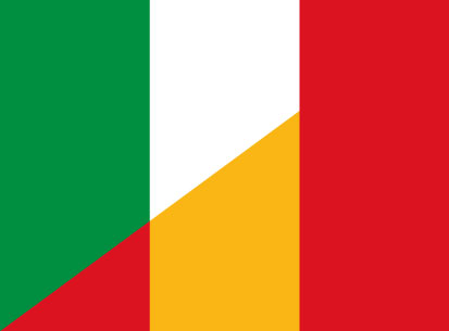 Bandera Italia España