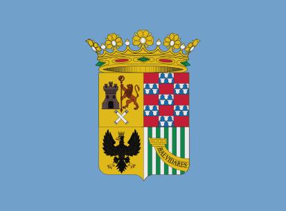 Bandera Bimenes azul