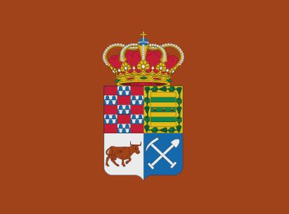 Bandera Degaña marrón