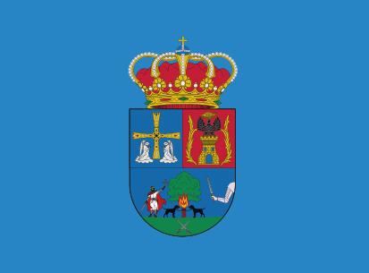 Bandera San Martín de los oscos azul