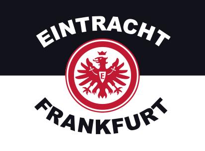 Bandiere Eintracht Frankfurt