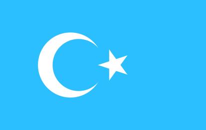 Bandera Turquetán Oriental