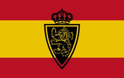 Bandera España Real Zaragoza