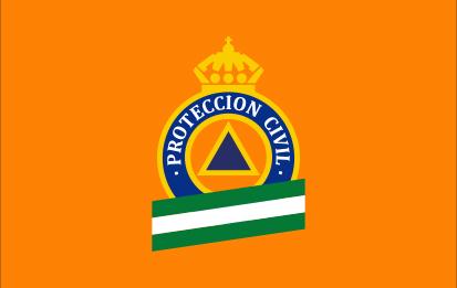 Bandera Protección Civil Andalucía