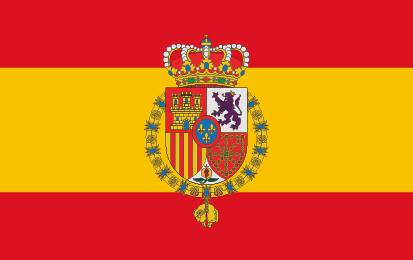 Bandera Estandarte de Felipe VI España