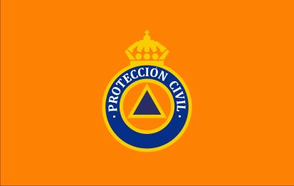 Bandera Protección Civil