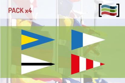 Bandera Pack Banderas Naúticas Repetidores y Galladerte de