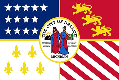 Bandera Detroit