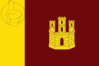 Bandera Castillo de Garcimuñoz