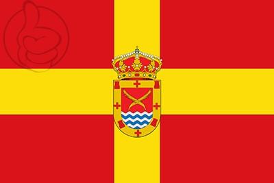 Bandera Los Santos de la Humosa