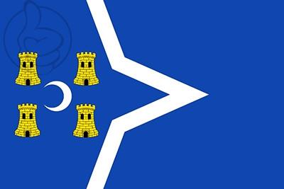 Bandera La Puebla de Híjar