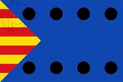 Bandera Ojos Negros