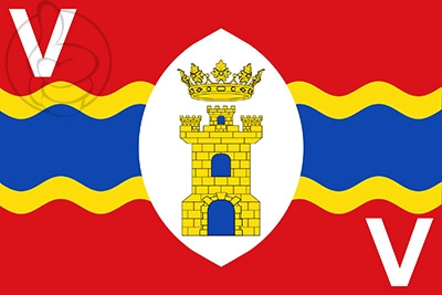 Bandera El Vallecillo