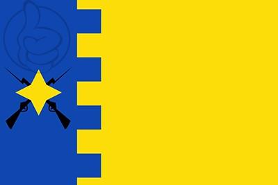 Bandera Cabañas de Ebro