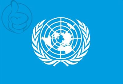 Bandera ONU (Naciones Unidas)