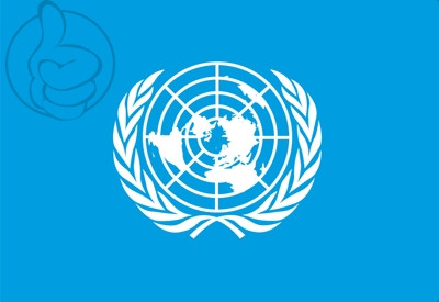 Drapeau ONU (Nations Unies)