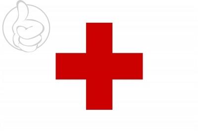Bandera Cruz roja
