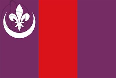 Bandera Rubió