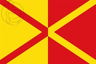 Bandera Sant Agustí de Lluçanès