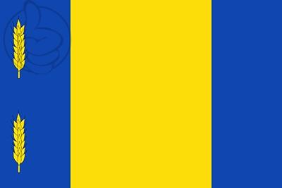 Bandera La Puebla de Albortón