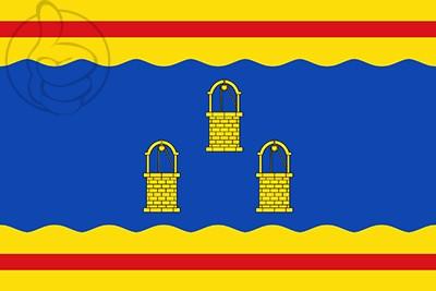 Bandera Pozuelo de Aragón
