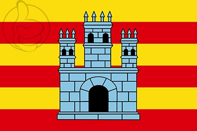 Bandera Castelló d\'Empúries