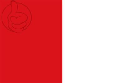 Bandera Sant Julià del Llor y Bonmatí