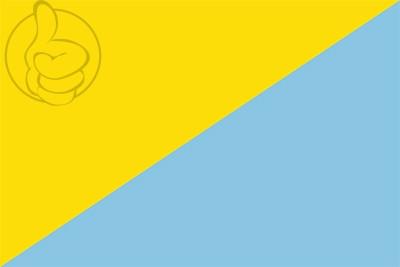 Bandera Sant Llorenç de la Muga