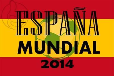 Bandera España Mundial 2014