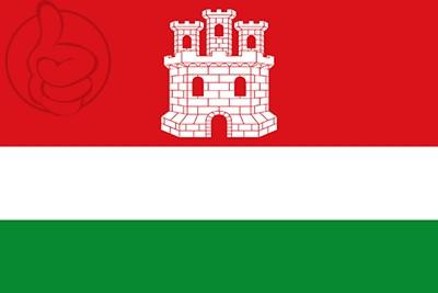Bandera Castrotierra de Valmadrigal