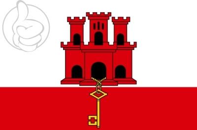 Bandera Gibraltar