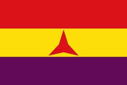 Drapeau Brigades internationales