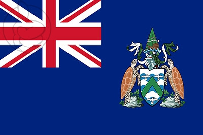 Bandera Ascension Island
